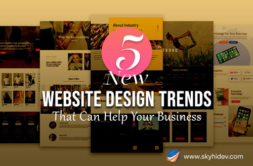 new website design trends