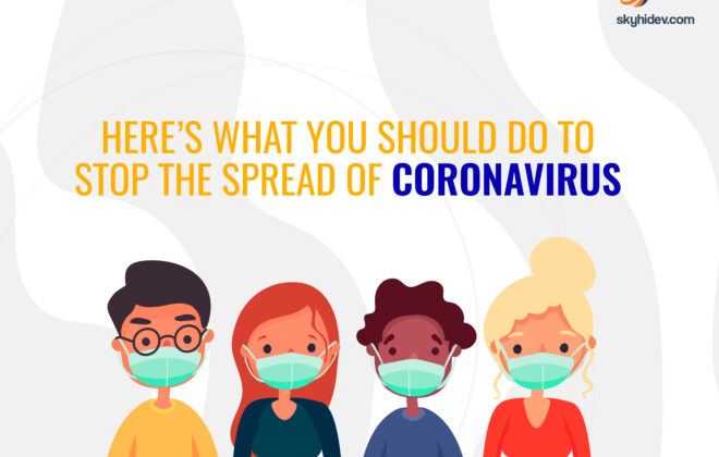 Stop The Spread Of Coronavirus