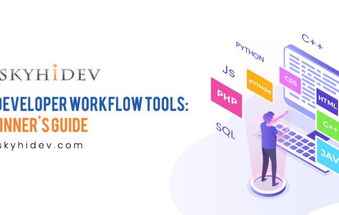 Web developer work flow