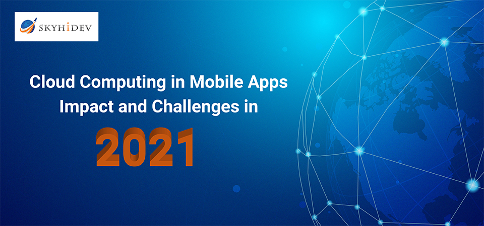 Cloud computing in mobile apps