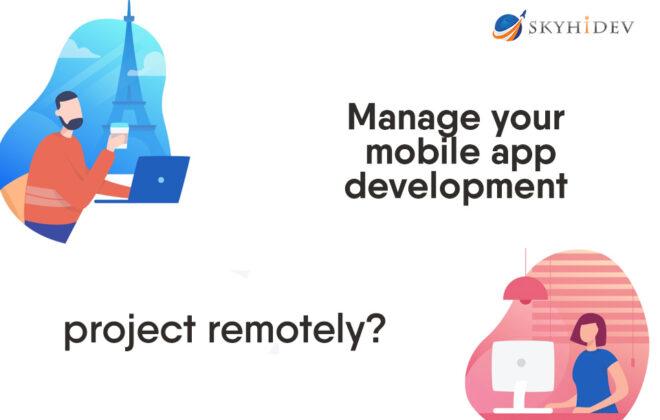 mobile app development project